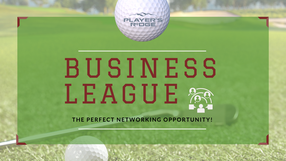 Business League at Player's Ridge