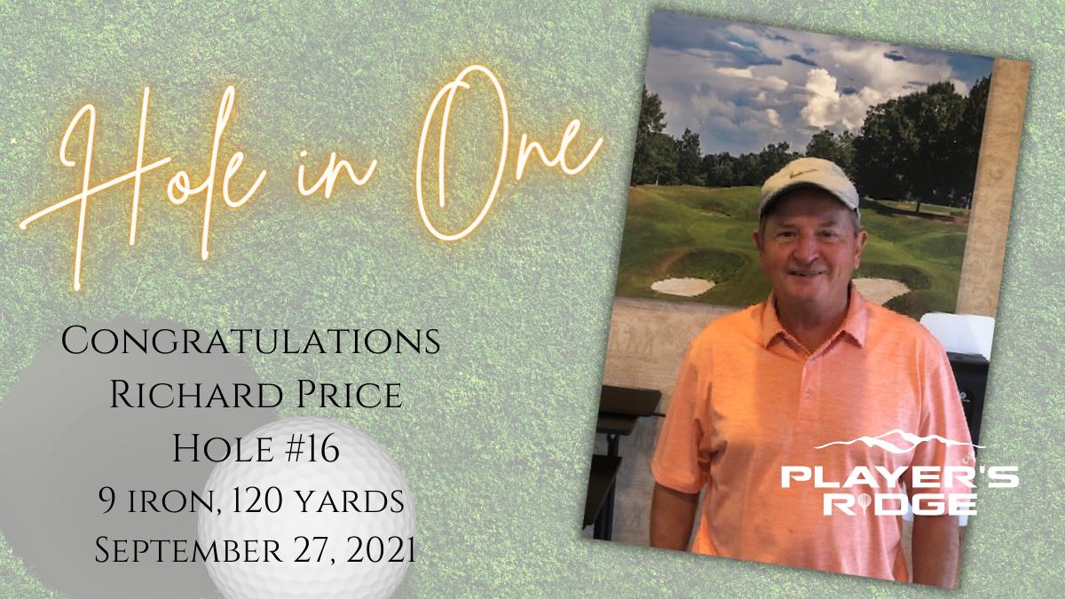 Congratulations Richard!